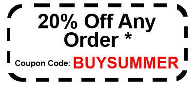 20% Off end of summer Coupon code BUYSUMMER
